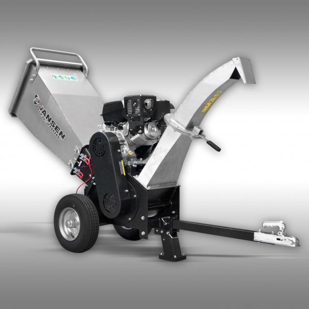 Jansen Hakselaar GTS-2000pro, tuin- + groenafval, versnipperaar, benzine