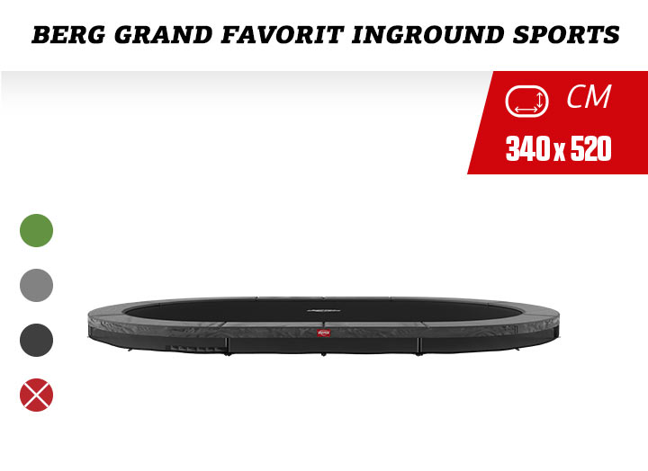 BERG Grand Favorit InGround Trampoline Sport