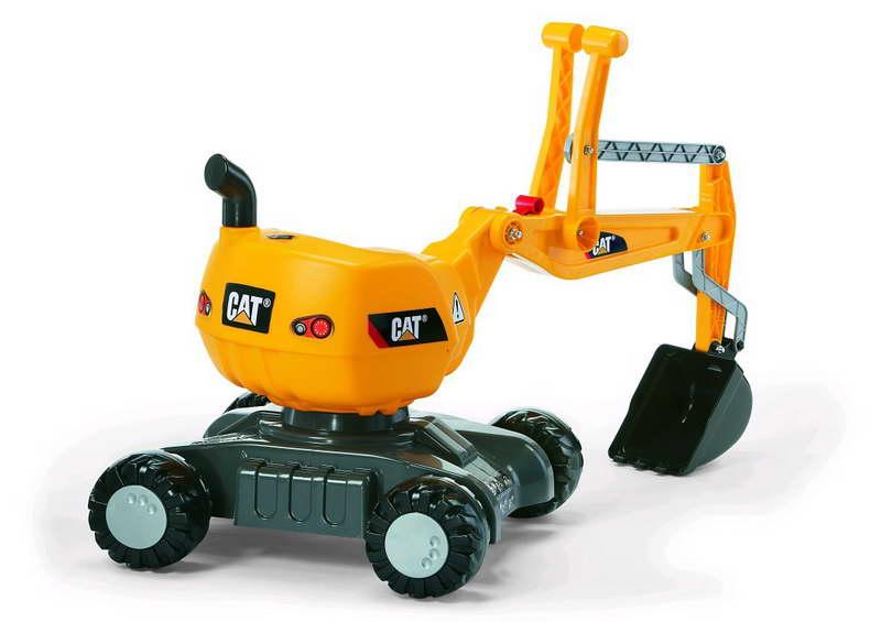 Rolly Toys CAT RollyDigger graafmachine op wielen