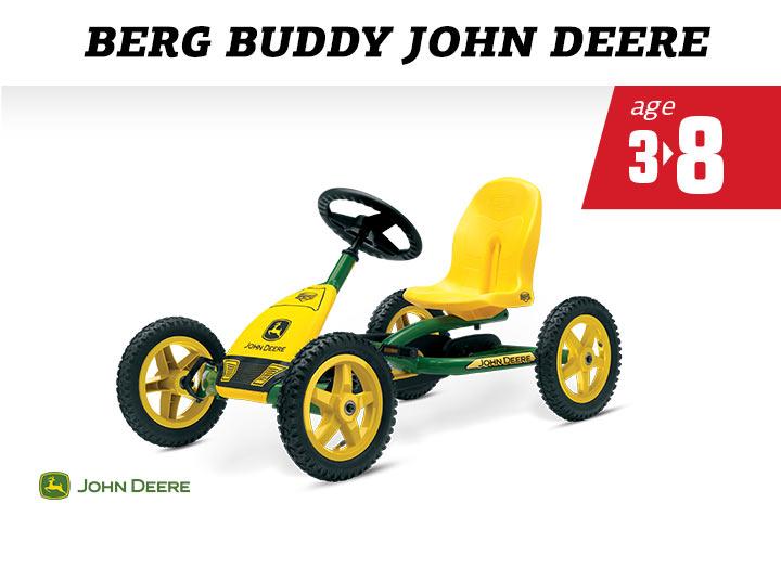 BERG Buddy John Deere skelter