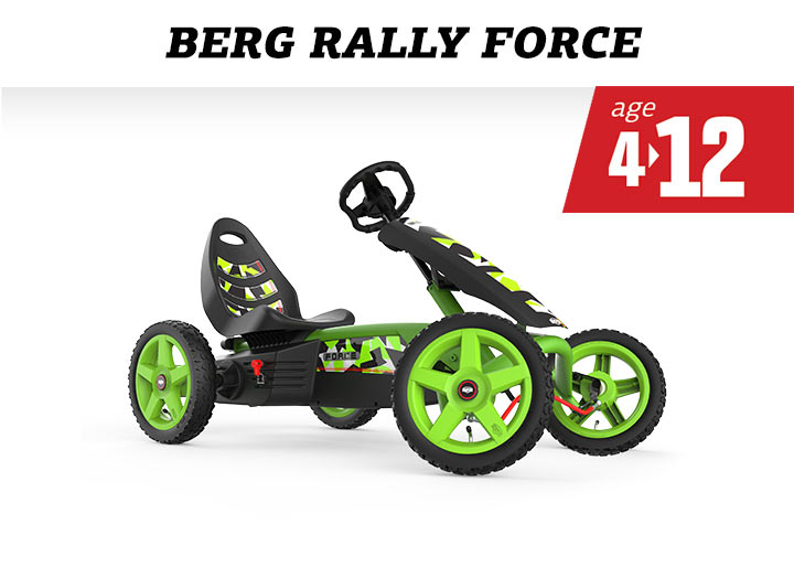 BERG Rally Force skelter