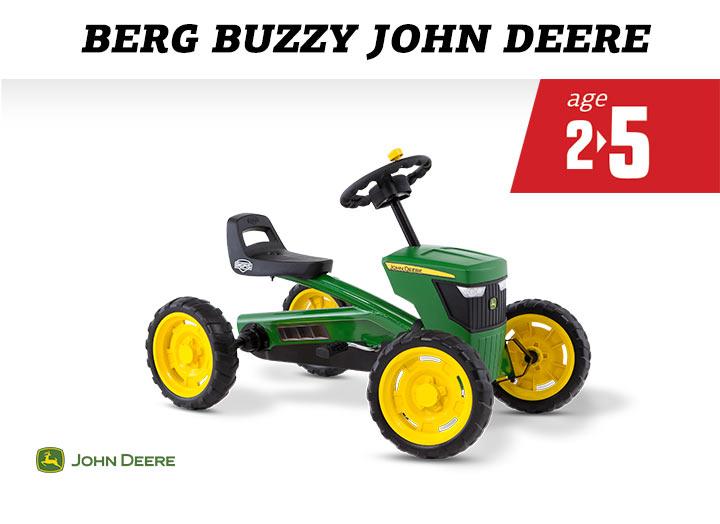 BERG Buzzy John Deere skelter