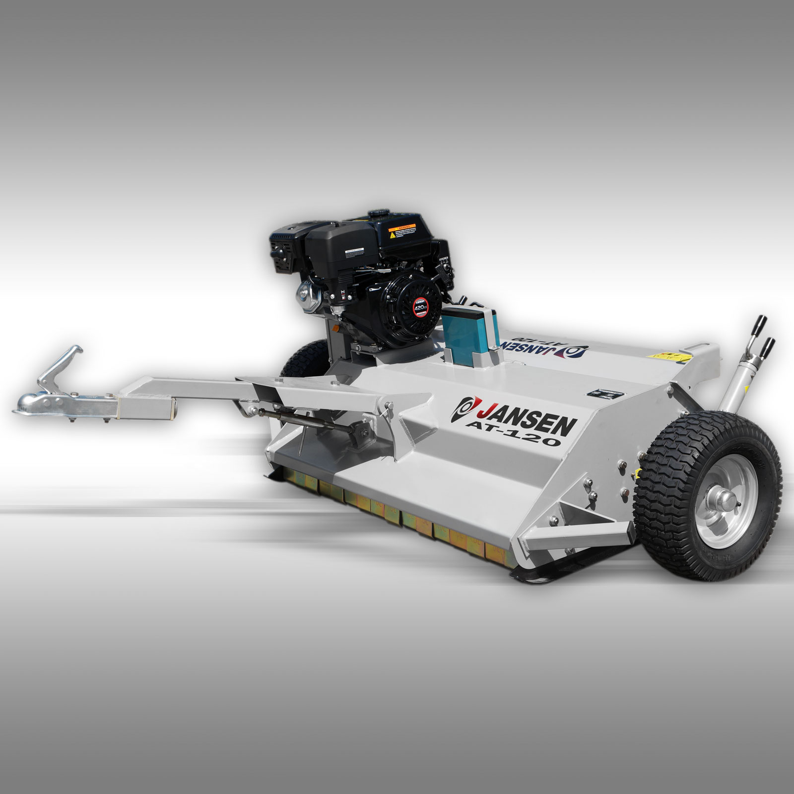 Jansen Klepelmaaier AT-120, 15 PK motor, 115cm, quad, ATV, UTV, tractor,