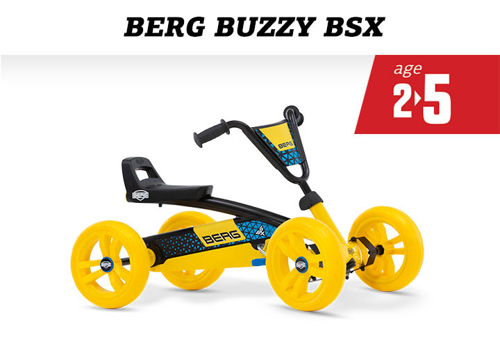 BERG Buzzy BSX skelter