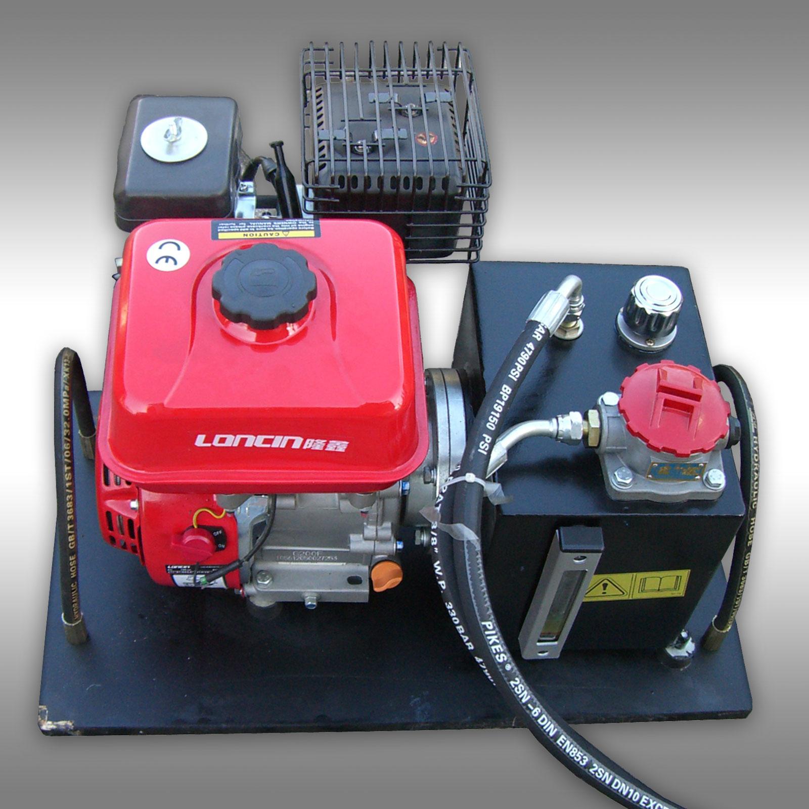 Jansen Hydraulische motorunit voor transportaanhanger  HRW-15, benzinemotor