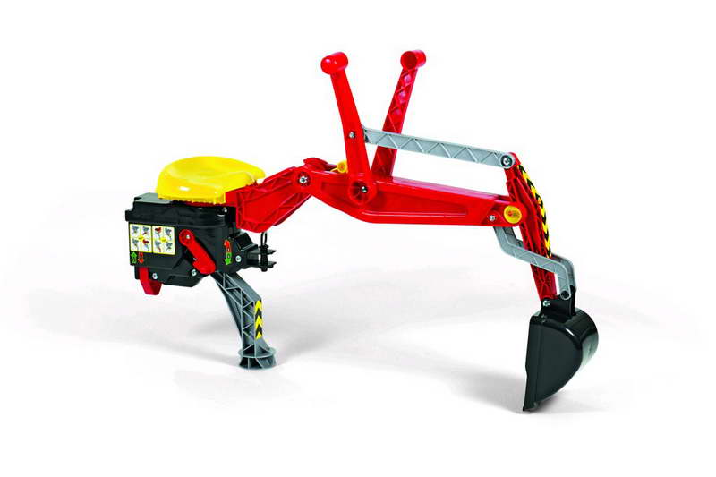 Rolly Toys Achtergraver rood