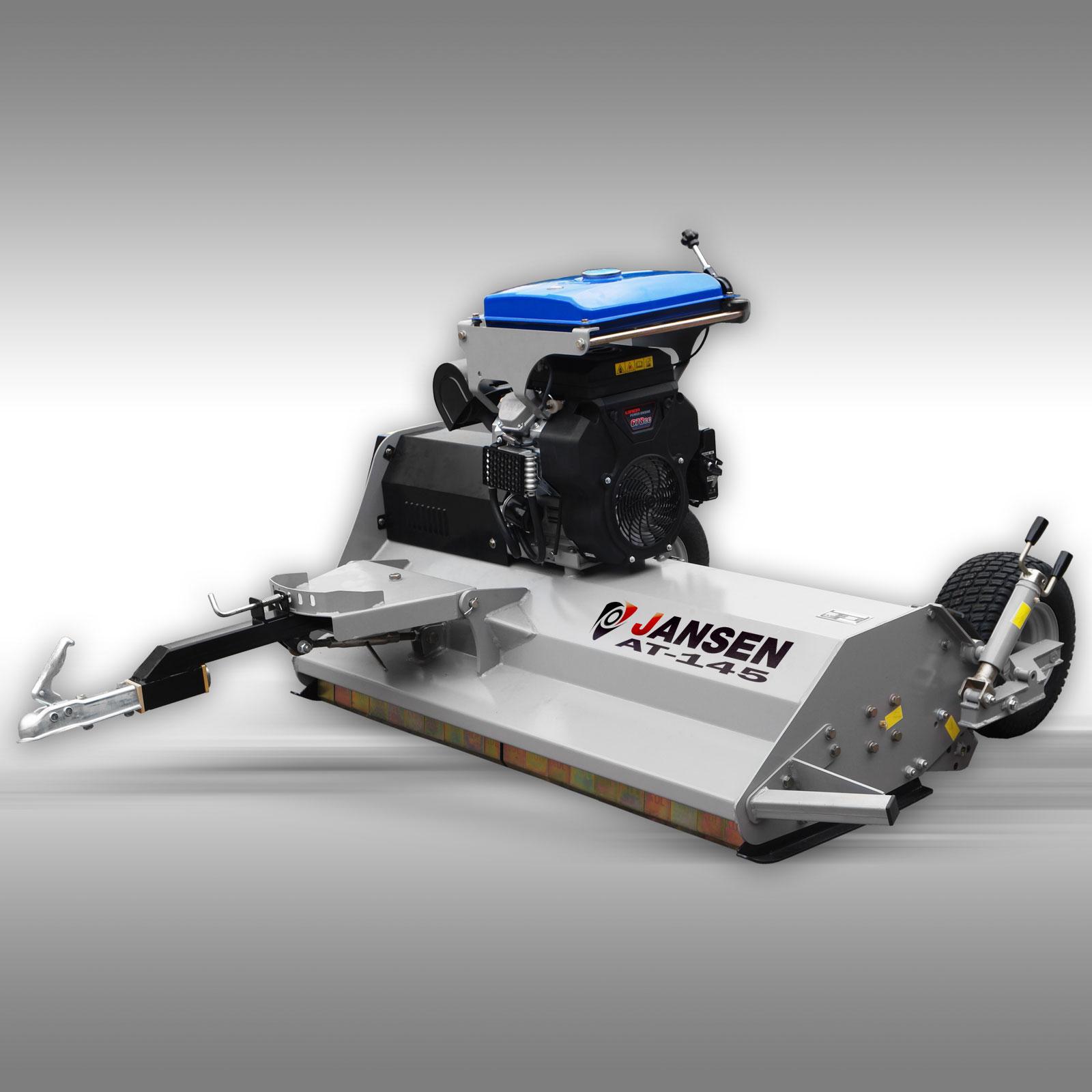 Jansen Klepelmaaier AT-145, 23 PK motor, 140cm, quad, ATV, UTV, tractor,
