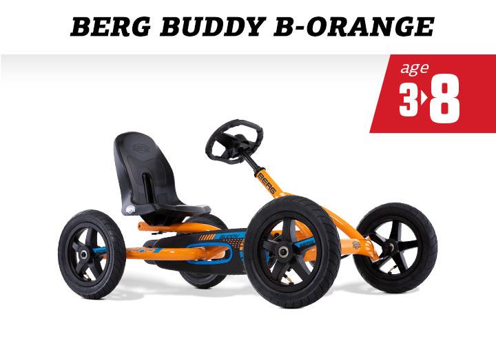 BERG Buddy B-Orange skelter
