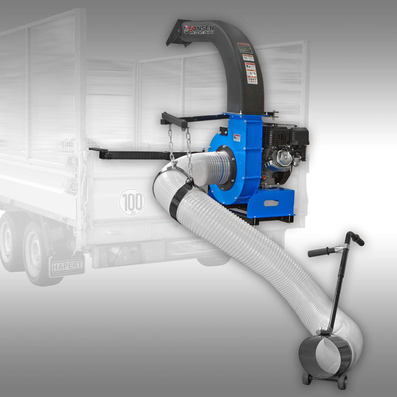 Jansen Bladzuiger LG-1300, Truckloader-bladruimer, aanbouwframe