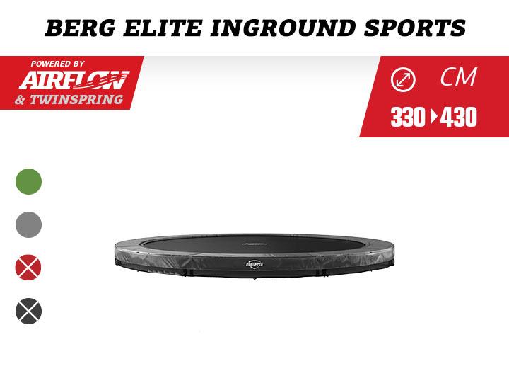 BERG InGround Elite Trampoline Sport 330-380-430
