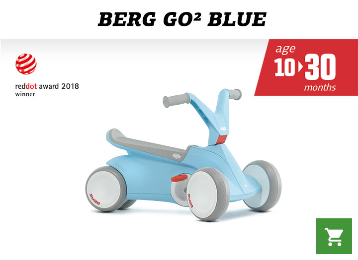 Berg GO2 Blue skelter