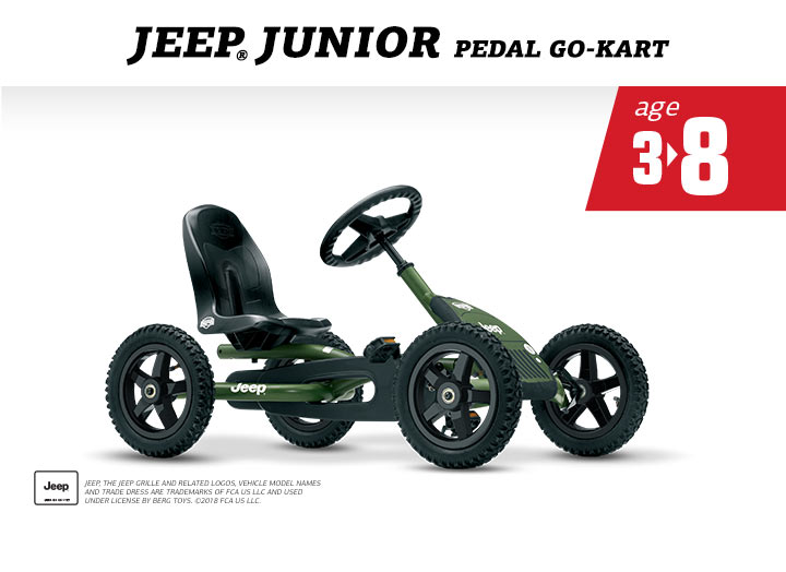 Berg Jeep Junior Pedal Buddy Skelter