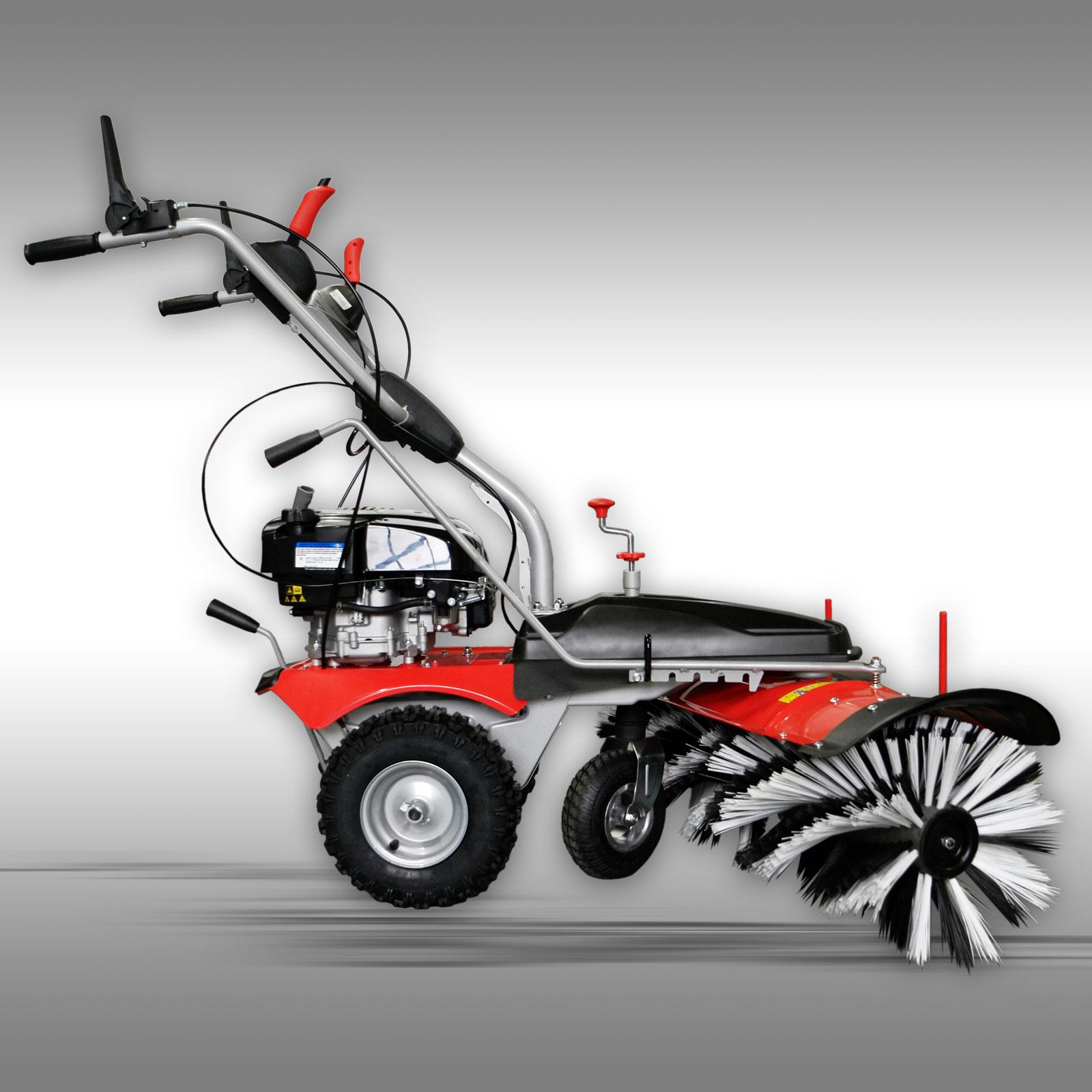 Veegmachine Jansen MKB-500 BS incl. sneeuwschild + opvangbak + elektrostarter