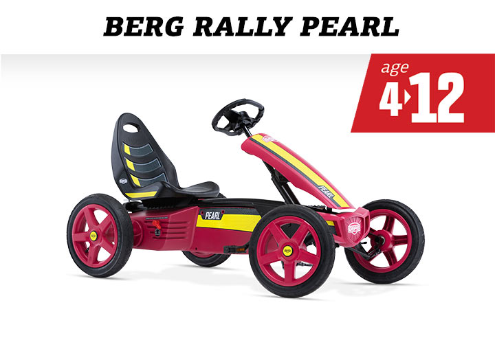 BERG Rally Pearl skelter