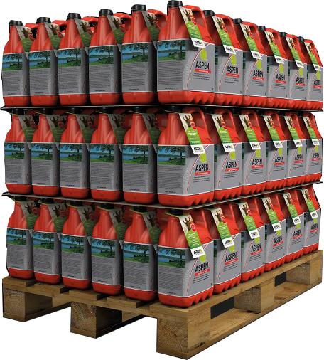 ASPEN FRT 2-takt benzine 108x5 Liter