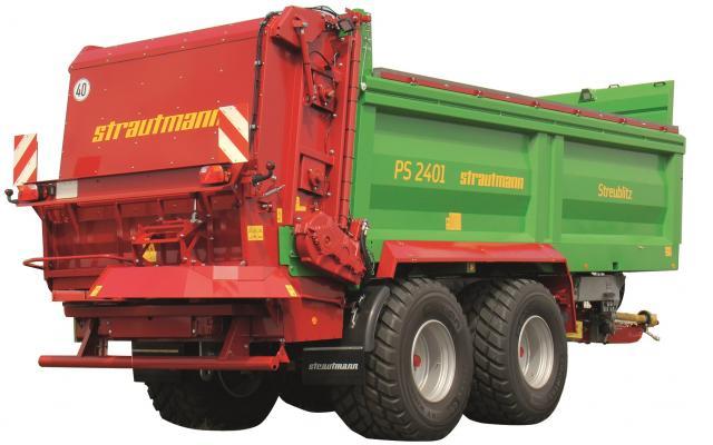 Strautmann Stalmestverspreider PS 2201 - 3401 19,6 – 25,7 m³