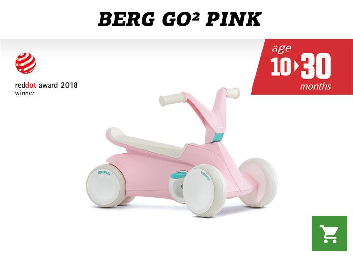 Berg GO2 Pink skelter