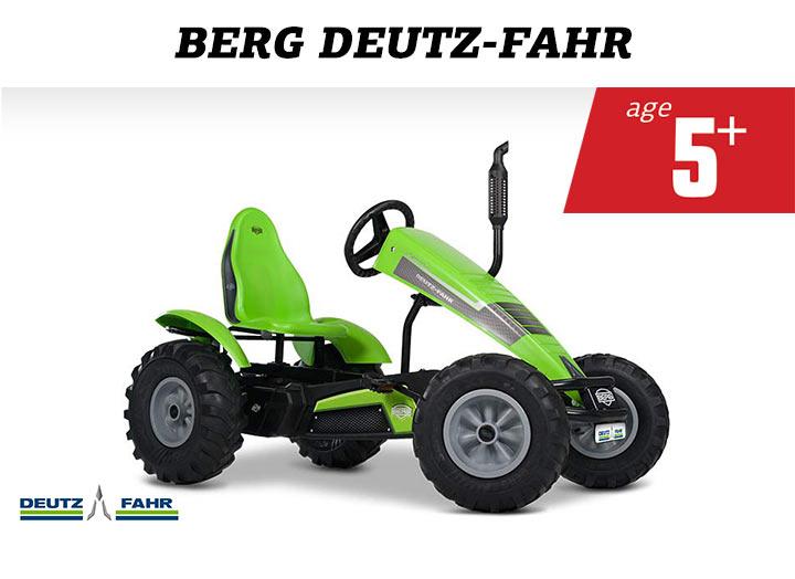 BERG Deutz-Fahr Farm skelter
