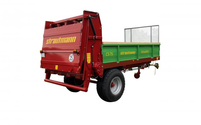 Strautmann Stalmestverspreider CS 75 - CS 95  7,5 – 9,5 m³