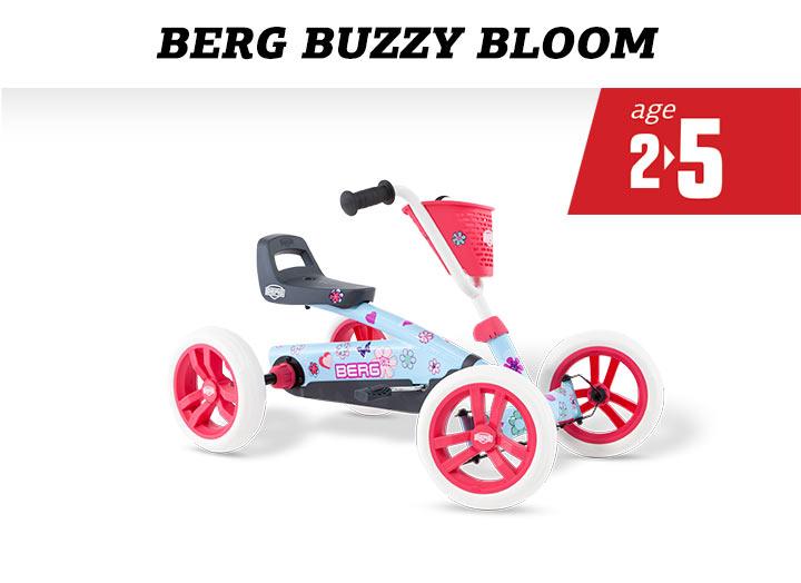 BERG Buzzy Bloom Skelter (2-in-1)