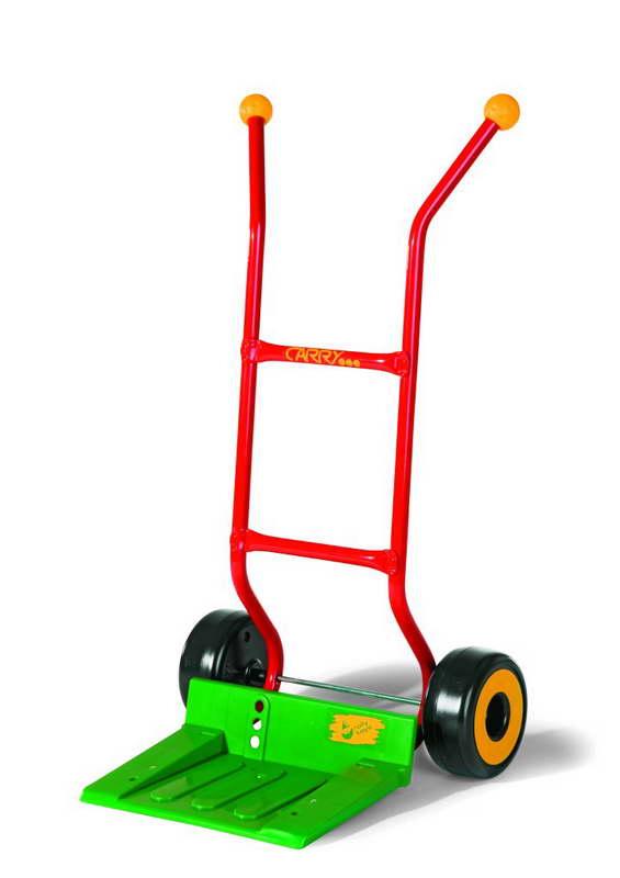 Rolly Toys Steekwagen groen/metaal