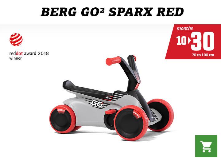 Berg GO2 Sparx Red skelter