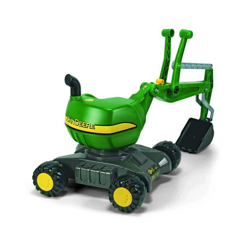 Rolly Toys John Deere RollyDigger graafmachine op wielen