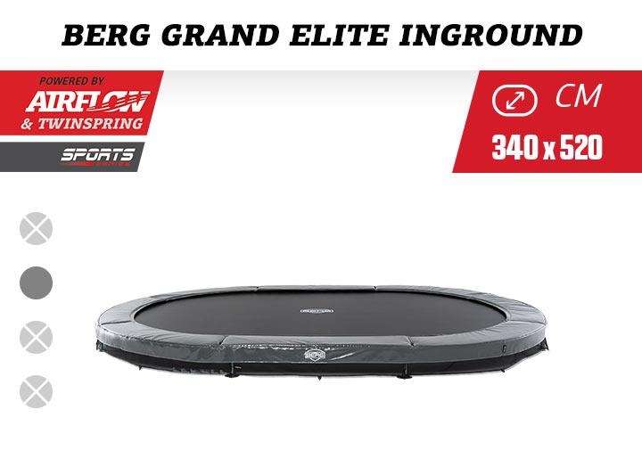 BERG Grand Elite 520 Inground trampoline sport