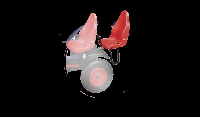 BERG Duostoel rood