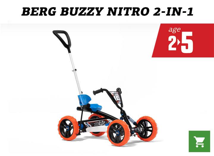 BERG Buzzy Nitro (2-in-1)