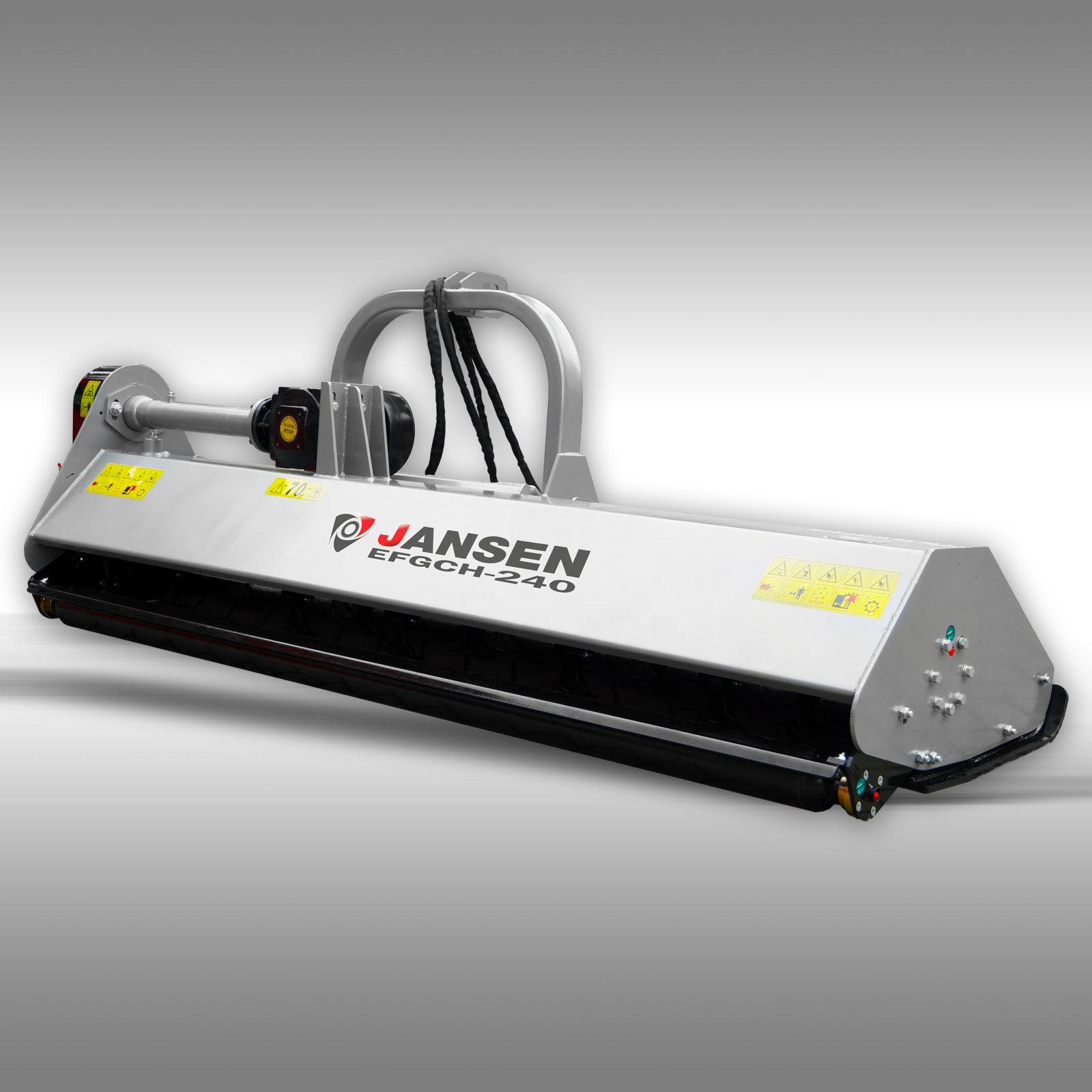 Jansen Klepelmaaier EFGCH-240, 239cm PTO Side-shift