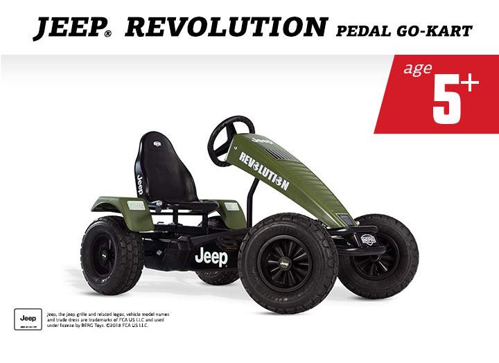 BERG Jeep Revolution BFR skelter