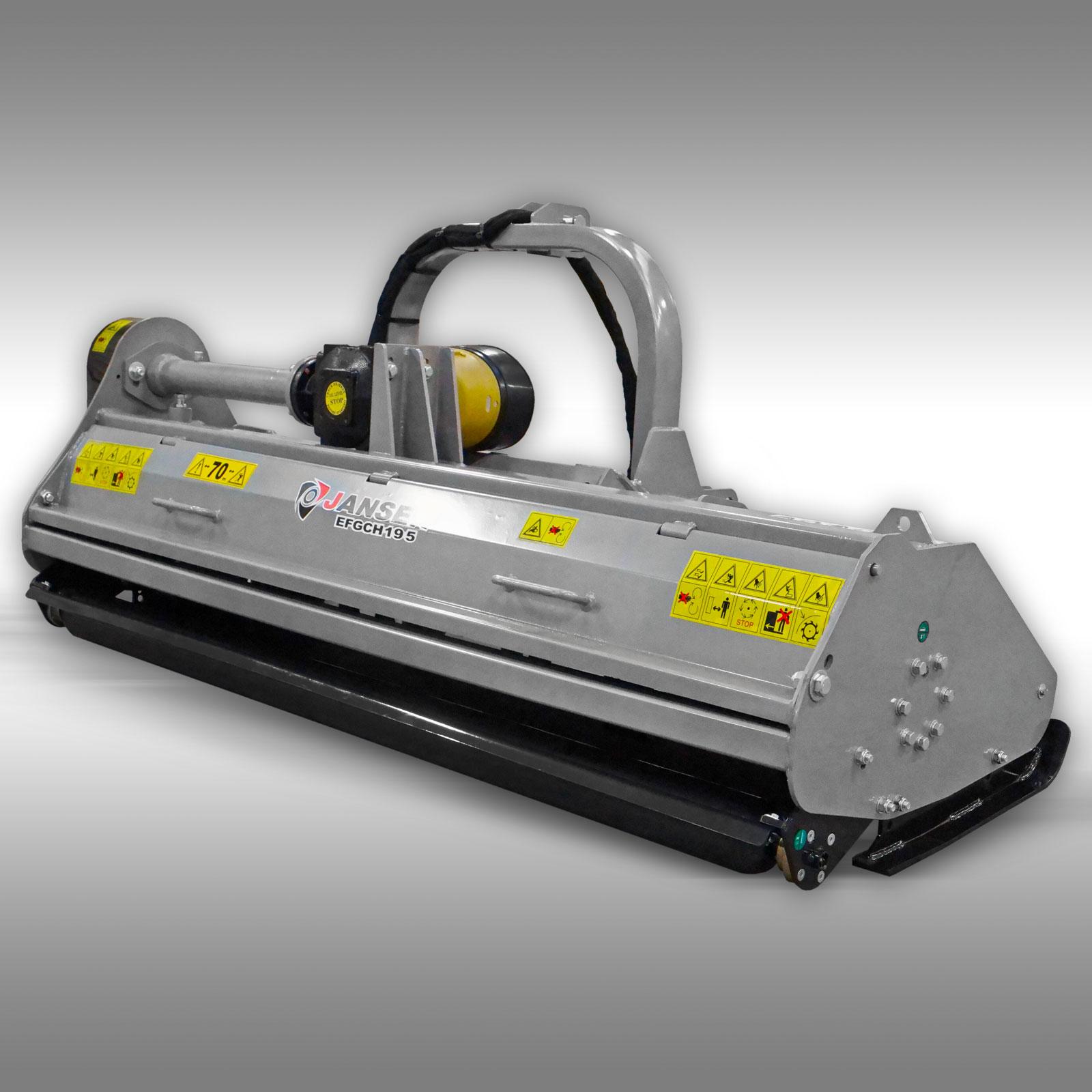 Jansen Klepelmaaier EFGCH-195, 192cm PTO Side-shift