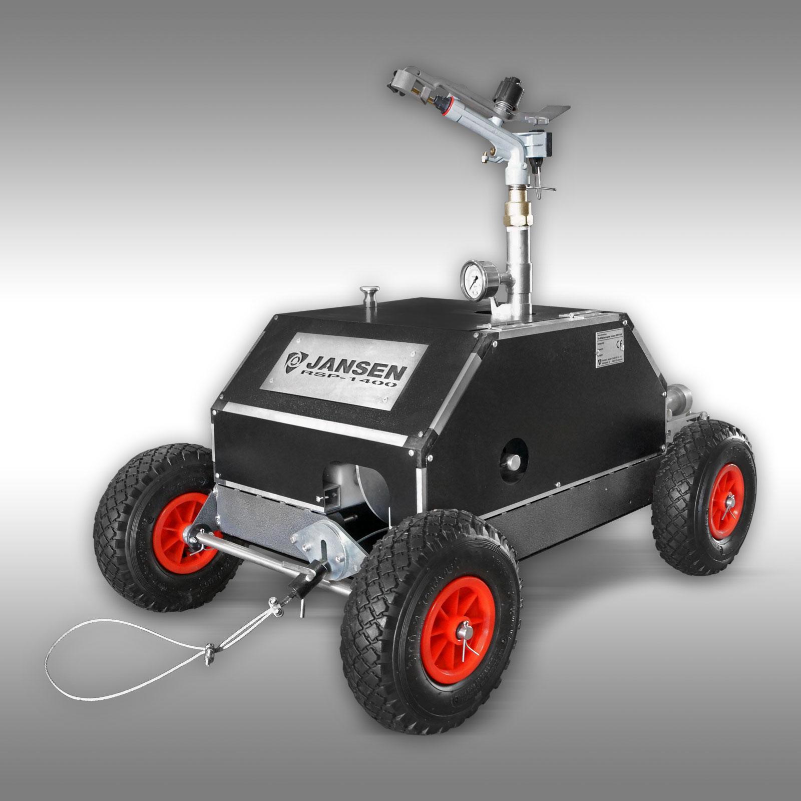 Beregenings installatie Jansen RSP-1400, sector- / rondsproeier, tuinsproeier