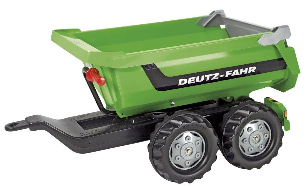 Rolly Halfpipe trailer Deutz-Fahr groen