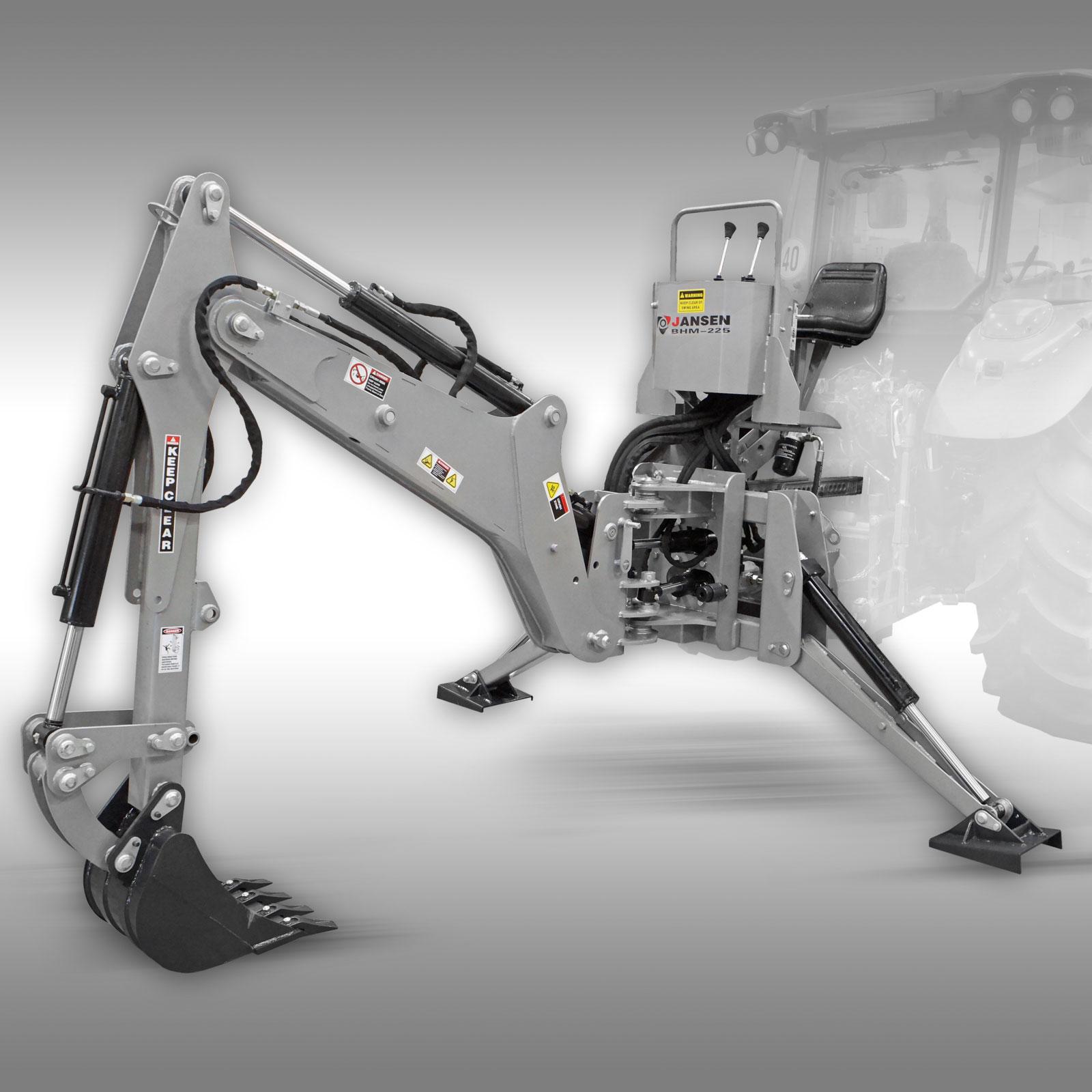 Graafmachine Jansen BHM-225 incl. 400 mm graafbak
