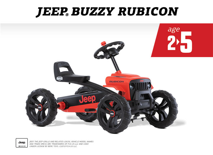BERG Buzzy Jeep Rubicon Skelter