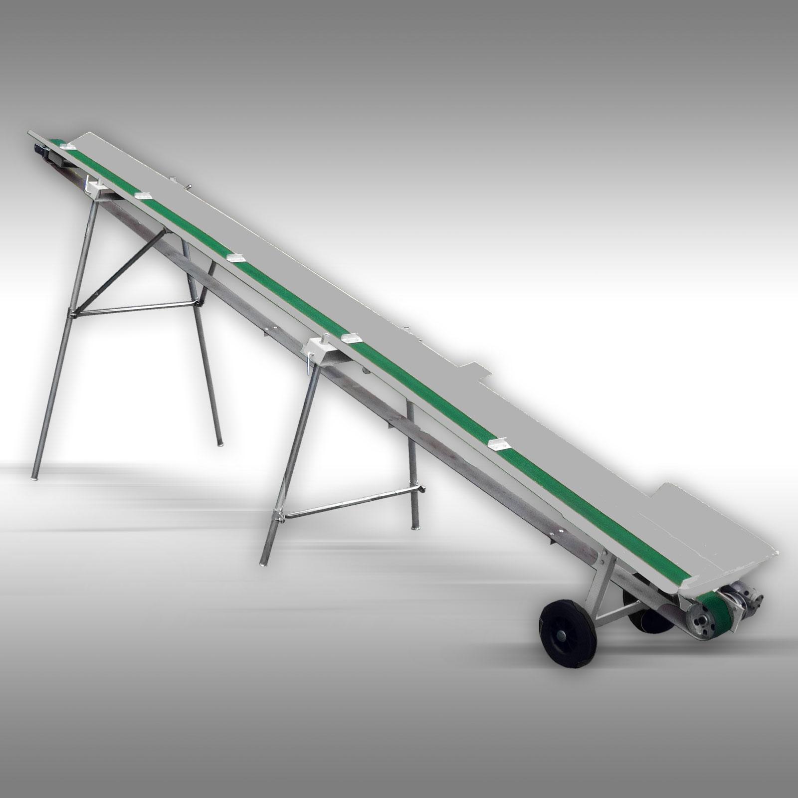Jansen Transportband  FB-500, transportband voor brandhout 5m,