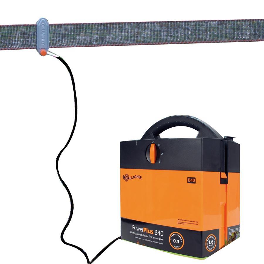 Gallagher Aansluitkabelset lint - 130cm