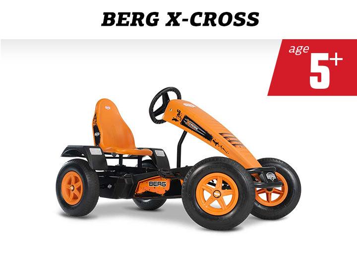 BERG X-Cross BFR skelter