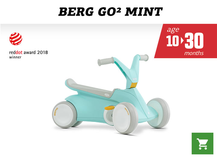 Berg GO2 Mint skelter